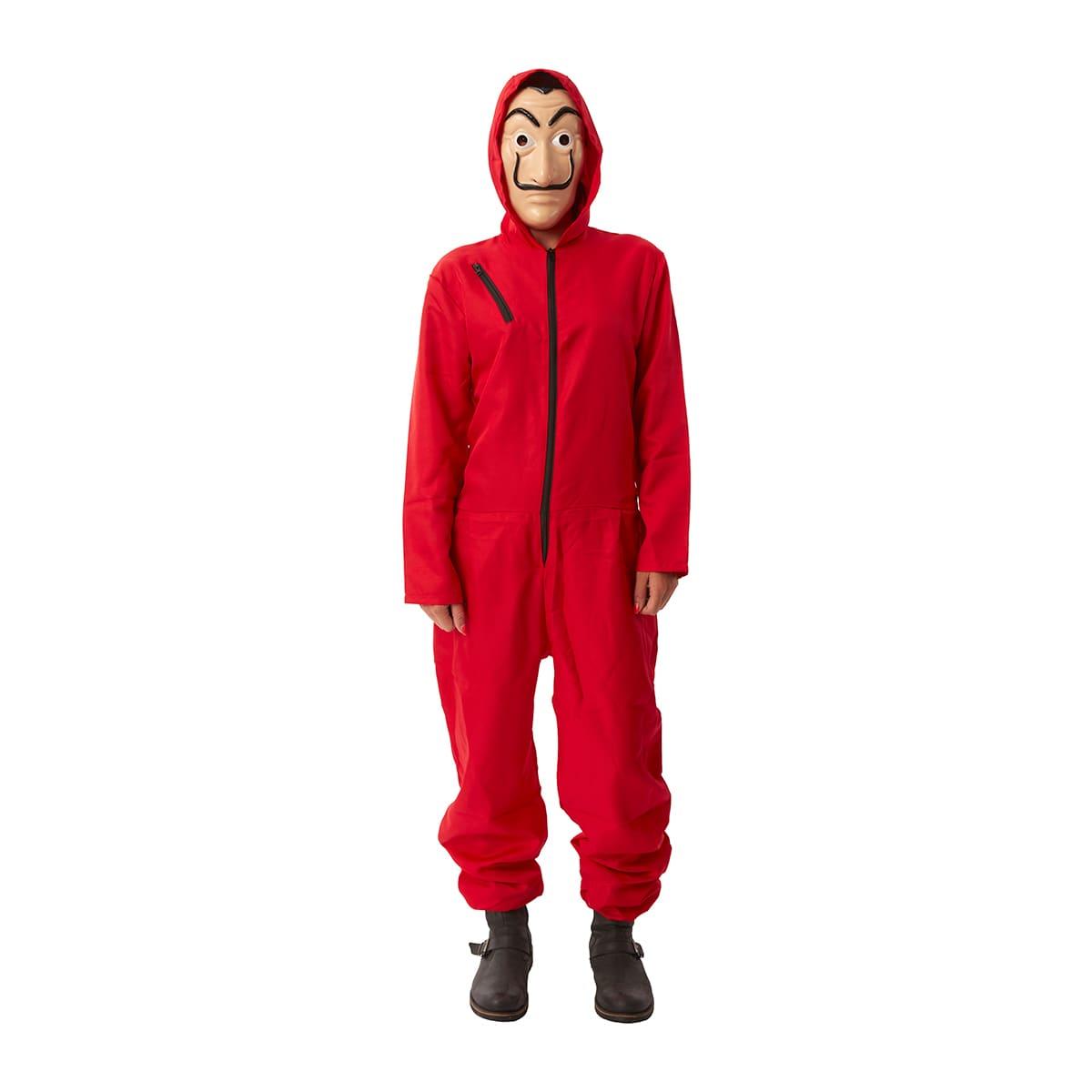 Rode overall kostuum