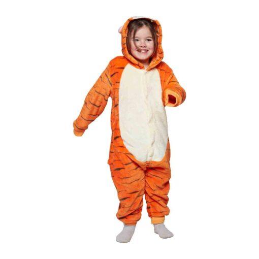 Kinder onesie tijger