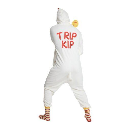 Kip onesie trip kip achterkant