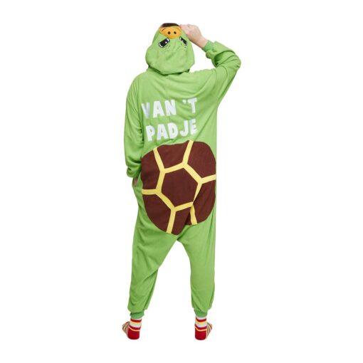 Schildpad onesie van t padje achterkant