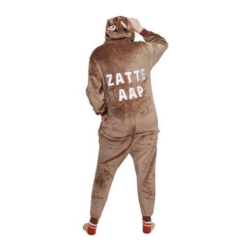 Apen onesie zatte aap achterkant