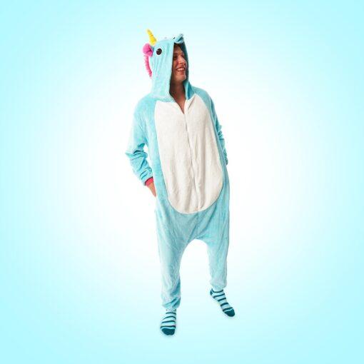 Wasted monkey unicorn onesie party animal
