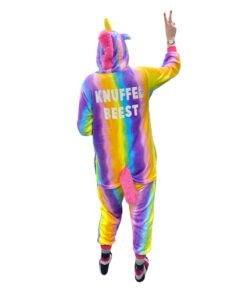 Unicorn onesie rainbow