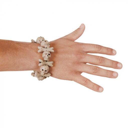 armband skull bones arm sfeer