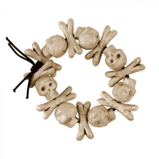 armband skull bones dichtbij