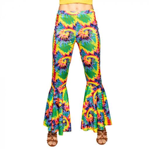 Flarebroek hippie dichtbij