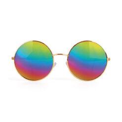 Hippie bril regenboog