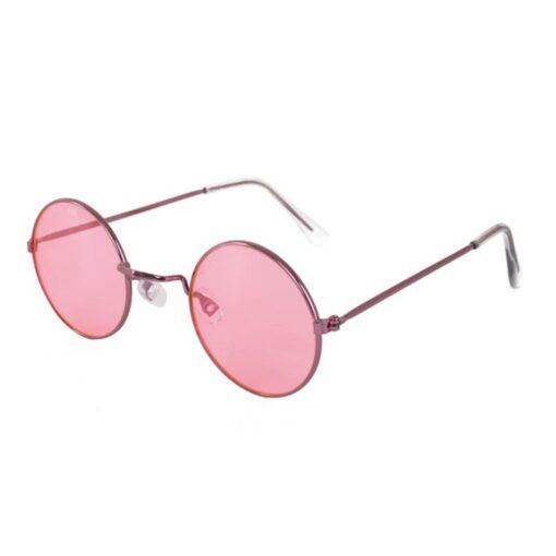 Hippie bril roze zij