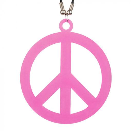 Hippie ketting roze dichtbij