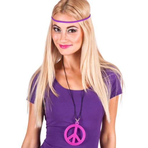 Hippie ketting roze sfeer
