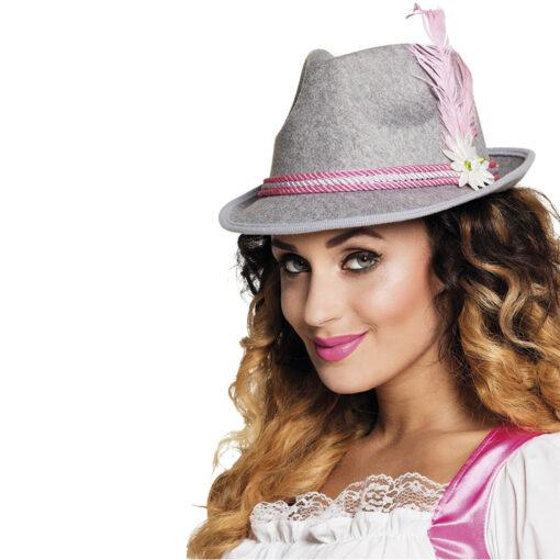 Roze hoed oktoberfest