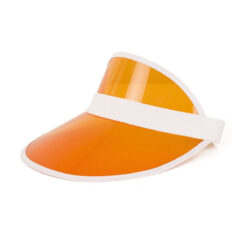 Zonneklep oranje zij