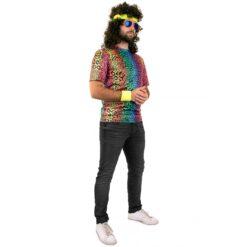Tshirt neon panter unisex